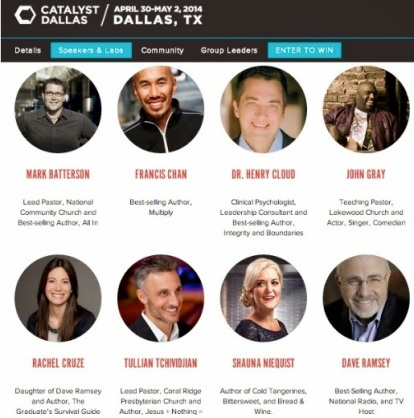 Catalyst Dallas - speakers small